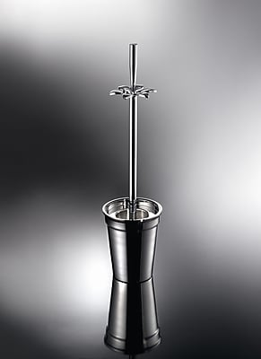 WS Bath Collections Complements Free Standing Toilet Brush and Holder