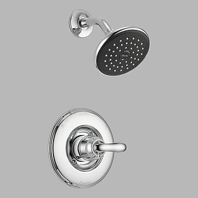 Delta Linden Shower Faucet Trim w/ Lever Handles; Chrome
