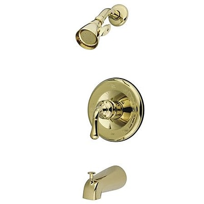 Kingston Brass Magellan Shower Faucet Trim; Polished Brass