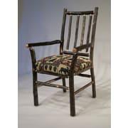 Flat Rock Furniture Berea Rail Back Arm Chair; Yellowstone