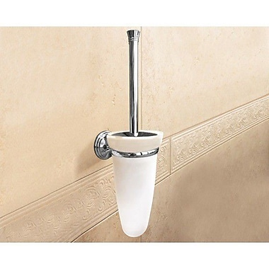 Gedy by Nameeks Romance Wall MountedToilet Brush and Holder; Chrome