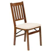 Stakmore Arts and Crafts Chair (Set of 2); Oak