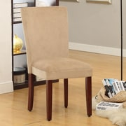 HomePop Side Chair (Set of 2); Rich Tan Mocha