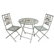 Alpine Metal 3 Piece Bistro Set