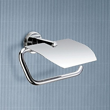 Gedy by Nameeks Demetra Wall Mounted Toilet Paper Holder w/ Cover
