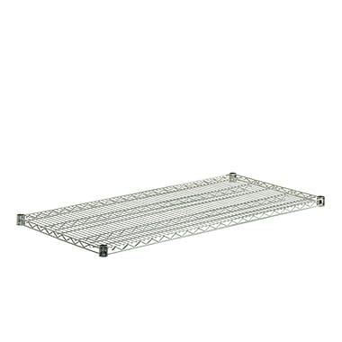 Honey Can Do Coated Powder Steel Wire Shelf, chrome (SHF800C1848)