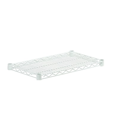 Honey Can Do White Powder Coated Steel Wire Shelf, white (SHF800W1436)