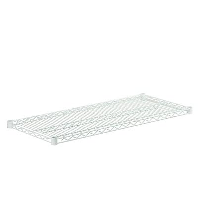Honey Can Do Powder Coated Plated Steel Wire Shelf, white (SHF800W1842)