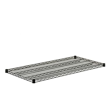Honey Can Do Black Wire Steel Shelf, black (SHF800B1848)