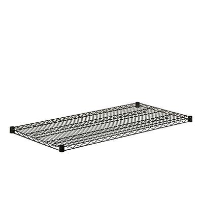 Honey Can Do Black Wire Steel Shelf, black (SHF800B1848)