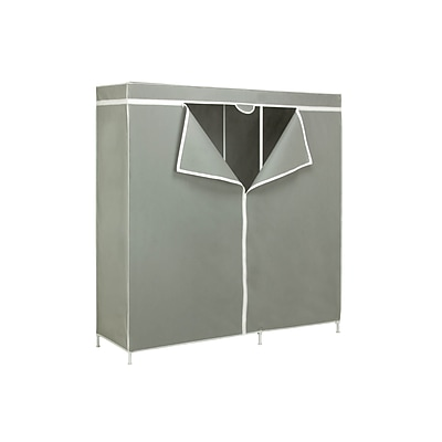 Honey Can Do Steel Frame Wardrobe 60