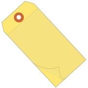 """BOX 6 1/4"""" x 3 1/8"""" #8 Self Laminating Tags, Yellow"""