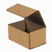 "6"" x 4"" x 3"" Kraft Corrugated Mailer, 50/Pack"