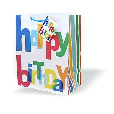 Medium Birthday Bags, 12/Pack
