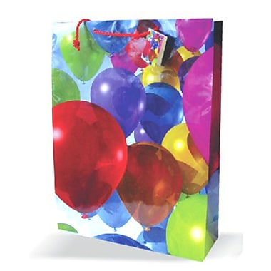Large Birthday Bags, 12/Pack