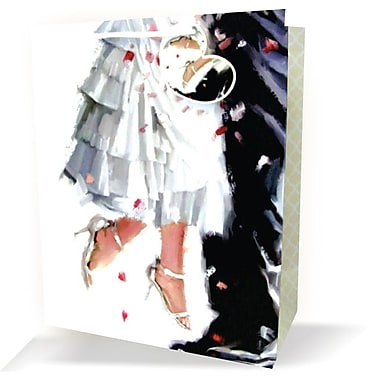Large Wedding Bags, Married Couple, 12/Pack
