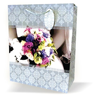 Large Wedding Bags, Flower Bouqet, 12/Pack