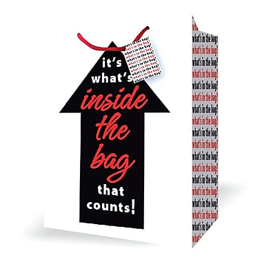 Extra Jumbo Birthday Bags, What's In The Bag, 12/Pack