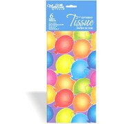 Printed 6 Sheet Tissue Paper, 12/Pack
