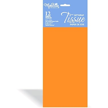 Solid Colour Tissue, 12/Pack