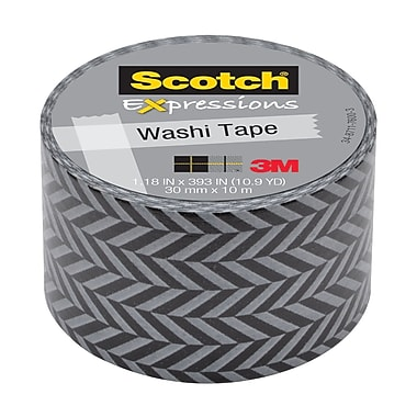 Scotch® Expressions Washi Tape, 30 mm x 10 m