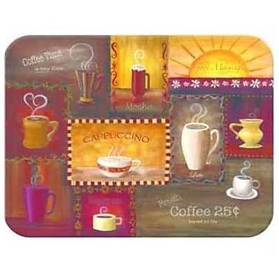 McGowan Tuftop Coffee Time Cutting Board; Medium (12''x16'')