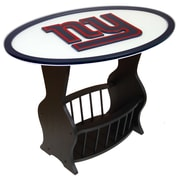 Fan Creations NFL Logo End Table; New York Giants