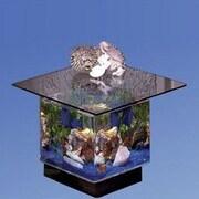 Midwest Tropical Fountain Aqua End Table Aquarium Tank