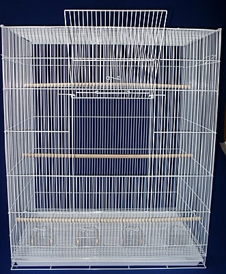 YML Lot of Four Large Bird Cage; Black