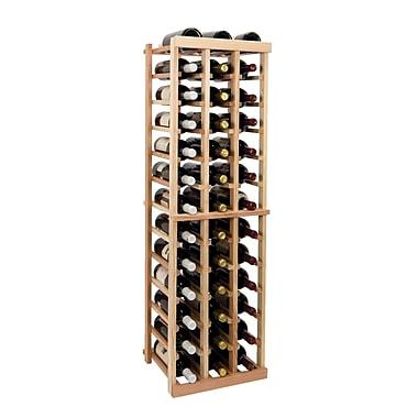 Wine Cellar Vintner Series 39 Bottle Floor Wine Rack; Unfinished