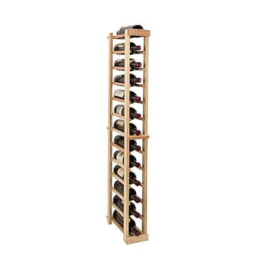 Wine Cellar Vintner Series 13 Bottle Floor Wine Rack; Classic Mahogany