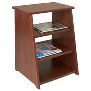 Manchester Wood Periodical End Table; Chestnut