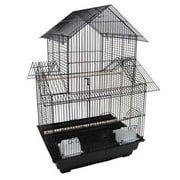 YML Pagoda Small  Bird Cage; Black