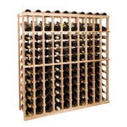Wine Cellar Vintner Series 120 Bottle Floor Wine Rack; Unfinished