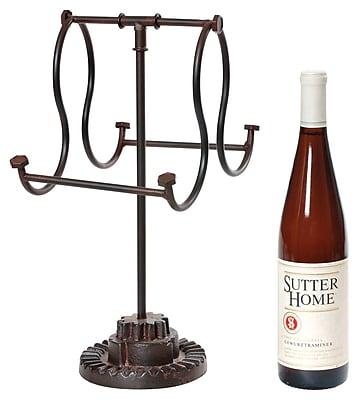 Wilco Home 2 Bottle Tabletop Wine Rack