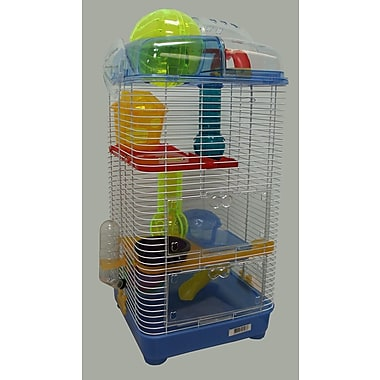 YML 3-Level Mouse Modular Habitat; Blue