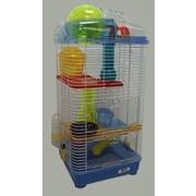 YML 3-Level Mouse Modular Habitat; Blue