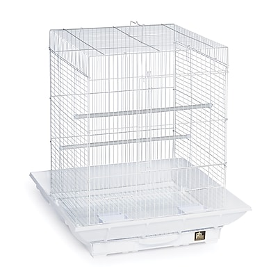 Prevue Hendryx Clean Life Cockatiel Bird Cage; White