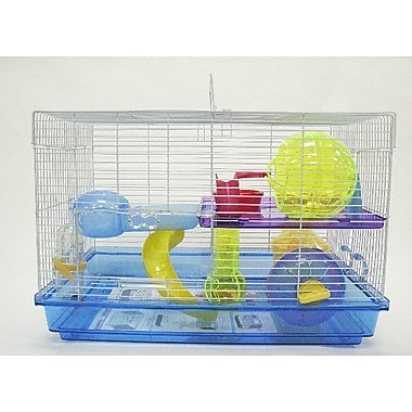 YML Small Animal Modular Habitat; Blue
