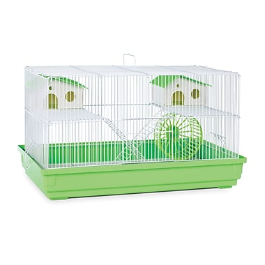 Prevue Hendryx Deluxe Small Animal Cage; Lime Green