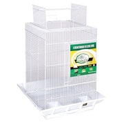 Prevue Hendryx Clean Life PlayTop Bird Cage; White