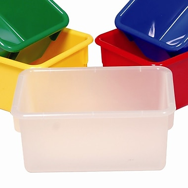 Steffy Tote Tray; Opaque