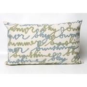 Liora Manne Amour Indoor/Outdoor Lumbar Pillow