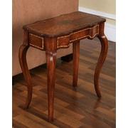 Accent Treasures End Table; Medium Wood