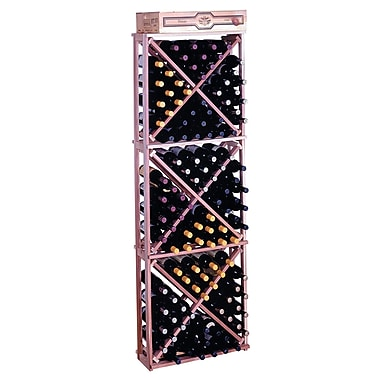 Wine Cellar Premium Redwood 132 Bottle Floor Wine Rack