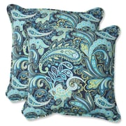 Pillow Perfect Pretty Indoor/Outdoor Throw Pillow (Set of 2)