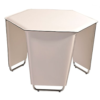 Bellini Modern Living Movado End Table; White