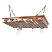 Laurel Highlands Woodshop Hanging Wine Glass Rack