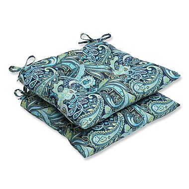 Pillow Perfect Pretty Outdoor Seat Cushion (Set of 2)