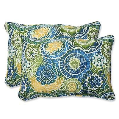 Pillow Perfect Omnia Indoor/Outdoor Throw Pillow (Set of 2); 16.5'' H x 24.5'' W x 5'' D